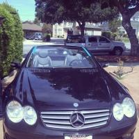 Mercedes Benz windshield replacement