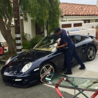 Porsche 911 windshield replacement