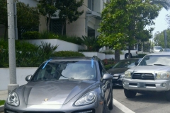 Porsche Cayenne windshield replacement